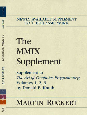 The MMIX Supplement Cover